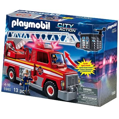 Playmobil Rescue Ladder Unit Playset - 5980 toy gift idea birthday