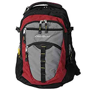 eddie bauer olympus backpack red gray sports outdoors. Black Bedroom Furniture Sets. Home Design Ideas