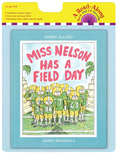 Miss Nelson Has a Field Day book and CD (Read-Along Book and CD Favorite) by Houghton Mifflin