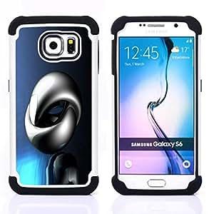 For Samsung Galaxy S6 G9200 - Abstract Shine Dual Layer caso de Shell HUELGA Impacto pata de cabra con im??genes gr??ficas Steam - Funny Shop -