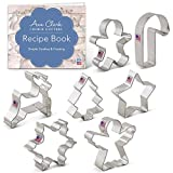 Ann Clark Holiday Christmas Cookie Cutter Set 7pc USA Made Steel Deal (Small Image)
