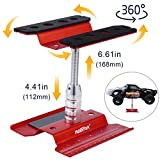 Hobbypark Aluminum Alloy RC Car Stand Work Station Repair Workstation 360 Degree Rotation Lift Or Lower for 1/12 1/10 1/8 Scale Truck Buggy
