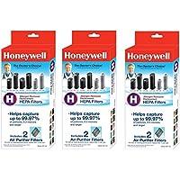 Honeywell True HEPA Air Purifier Replacement Filter 3 Pack (6 total filters)