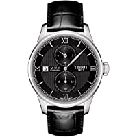 Deals on Tissot Le Locle Automatic Black Dial Mens Watch