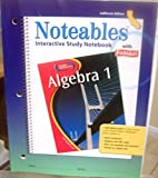 Algebra 1, Noteables: Interactive Study Notebook with Foldables (California Edition)