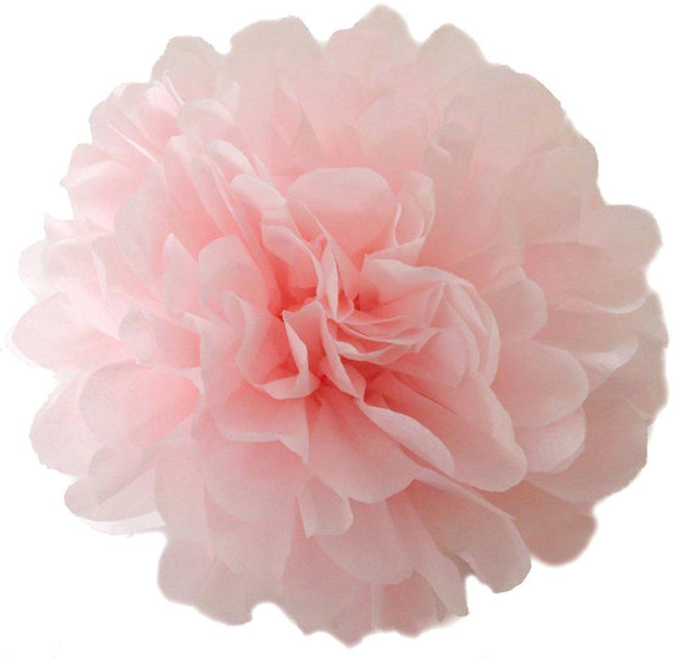 Amazon Furuix 9 Pcs White Navy Pink 10inch Tissue Paper Pom Pom