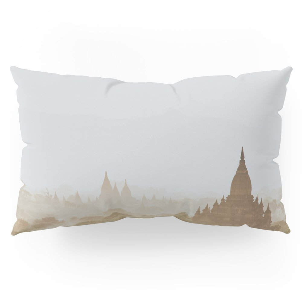 Society6 Bagan III Pillow Sham King (20'' x 36'') Set of 2