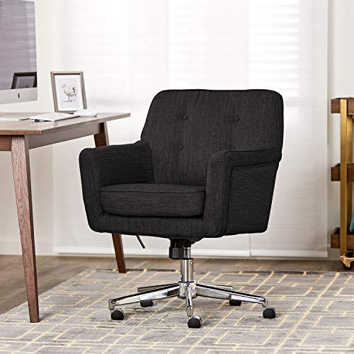 Serta Ashland Home Office Chair, Dark Gray