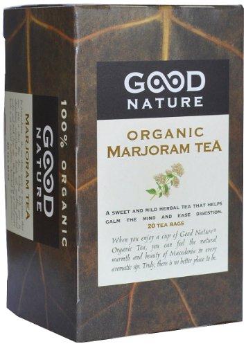 Good Nature Organic Marjoram Tea,  1.07 Ounce Mild Sweet Tea
