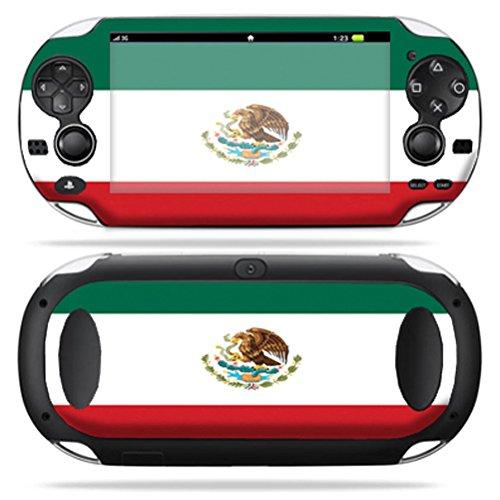 Mightyskins Protective Vinyl Skin Decal Cover for PS Vita PSVITA Playstation Vita Portable wrap sticker skins Mexican Flag