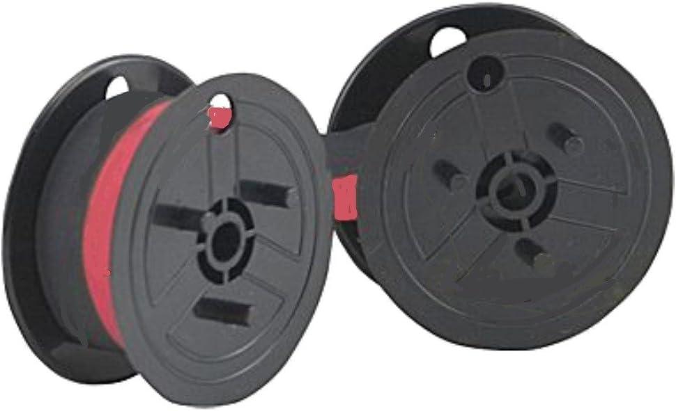 Farbband Doppelspule schwarz Gruppe 51 Kasse Tischrechner Rechenmaschine 13mm 6m