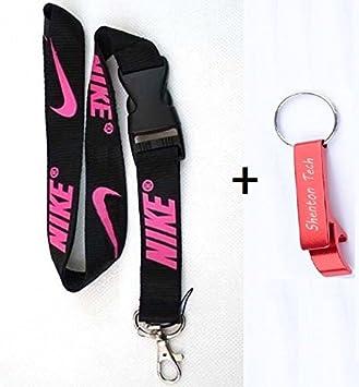 Nike clave cadena llavero cuello correas correa con hebilla ...