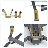 Drone-Fans-Extended-Landing-Gear-Lengthened-Support-Safe-Landing-Bracket-Guard-Protector-for-DJI-Mavic-Pro-Quadcopter-Drone-Gray-Golden-White