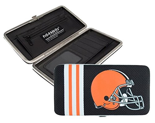 NFL Cleveland Browns Shell Mesh Wallet