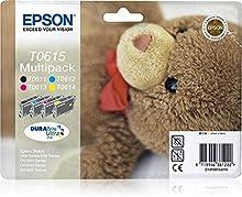Epson Multipack C13T06154010 4 colores (etiqueta RF) - Cartucho de tinta para impresoras