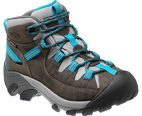 Keen Women's Targhee II Mid Gargoyle/Caribbean Sea Boot 8.5 B - Medium by Keen