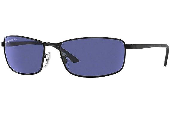 1c60ee23e0 Image Unavailable. Image not available for. Colour  Reebok Unisex  Rectangular Polarized Sunglasses ...