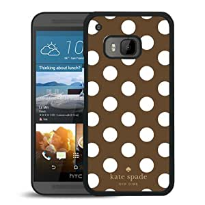 Unique Designed Kate Spade Cover Case For HTC ONE M9 Black Phone Case 290