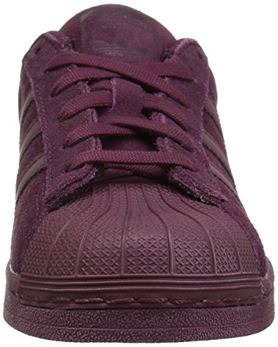 drkbur maroon Superstar adidas Boys' Originals Maroon Trainers f4Afa1wnxq