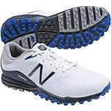 New Balance Men's Minimus Golf Shoe, White/Blue, 10 D US