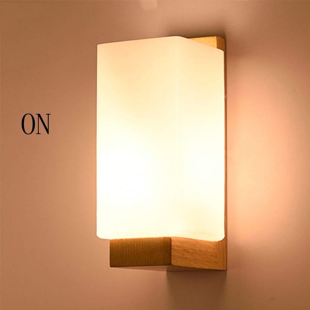 Moderne, liest das Schlafzimmer Wand Lampen in der Café Bar Lounge Speisesaal Wandleuchte Holz Beleuchtung Laternen leuchten