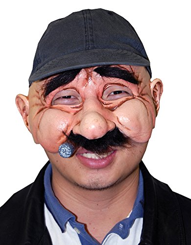 DISC0UNTST0RE Stan The Man Mask Halloween Costume -