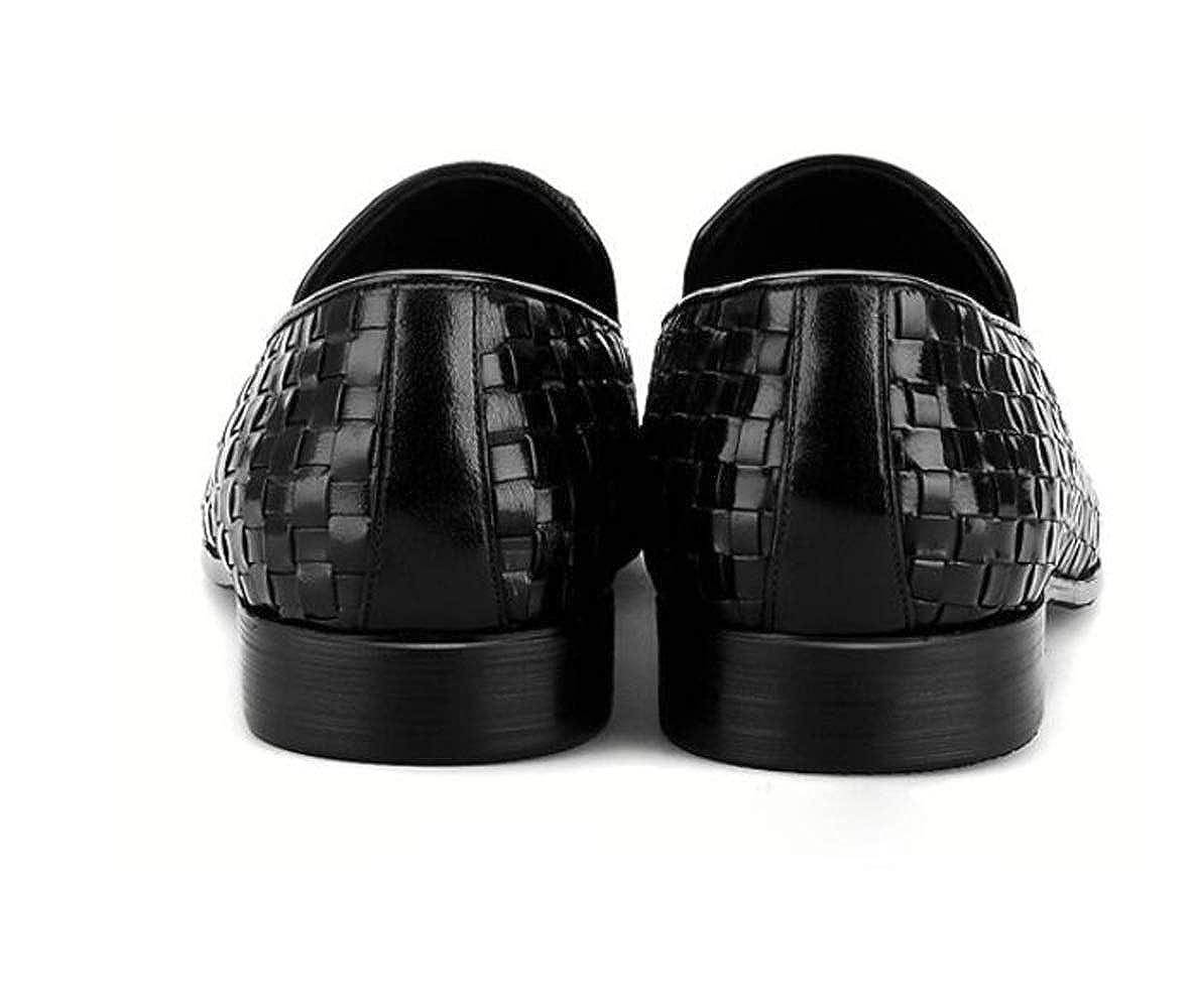 Royaume-Uni disponibilité 4e67d 1a85e LZMEG Chaussures Professionnelles pour Hommes Brunes Noires ...