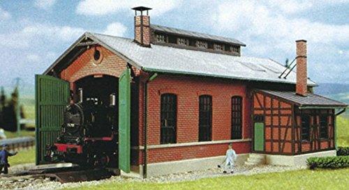 HO Scale 1-Stall engine house