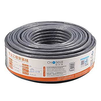 Image of Cat 7 Cables Choseal Cat 7 Ethernet Cable -23 AWG Pure Copper SFTP ethernet Network Computer Cord -Double Shielded Cat7 Wire Support 600MHz /10Gbps for Router, ps4,Xbox(1000ft/305 Meters)