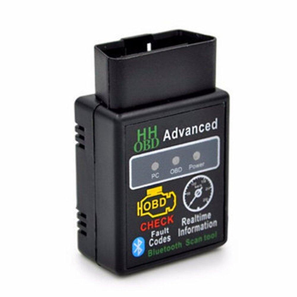OBD2 ELM327 Car Engine RPM Fault Scanner Diagnostic Code Reader Bluetooth V2.1 O