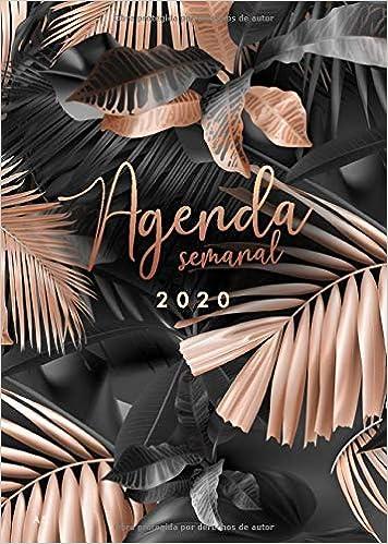 Agenda 2020 semanal: Agenda 2020 Semana Vista A5, Organiza ...