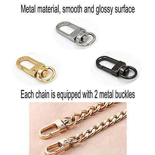 Amazon.com: DaNaRaa - 3 correas de cadena para bolso de mano ...