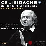 Anton Bruckner : Celibidache (Coffret 12 CD)
