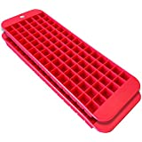 Cubette Mini Ice Cube Trays, Set of 2 Red
