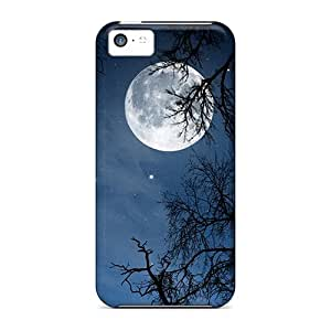 New Arrival ROm24368NuCU Premium Iphone 5c Cases(moon)