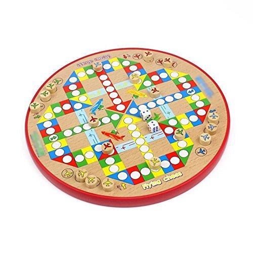 Goodgoods 知育玩具 おもちゃ チェッカー ダイヤモンドゲーム 子供 数独数字 013-lzgy-d262626(直径27cm 約800g)