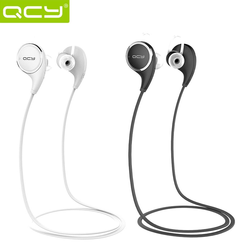 QCY QY8 Auriculares Deportivo In-ear Inalámbrico Estéreo Bluetooth 4.1 + EDR al Aire Libre & Interiores Manos Libres con Micrófono para iPhone LG Samsung S6 ...