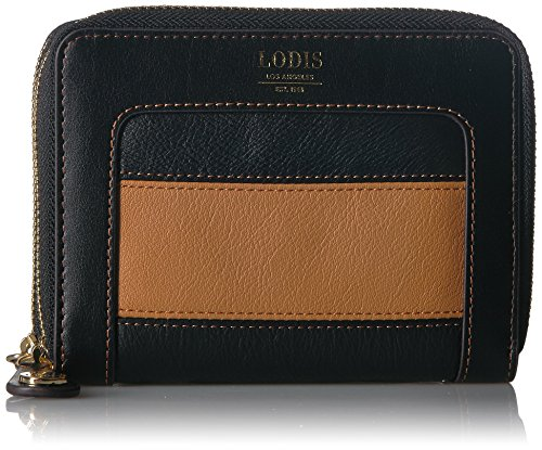 Lodis Laguna Rugby Laney Continental Double Zip Wallet, black ()