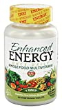 Kal - Enhanced Energy Once Daily Whole Food Multivitamin - 60 Vegetarian Tablets