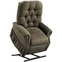 Medlift 1555P-EM Encounter Petite Two Way Reclining Lift Chair, Mushroom