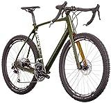 Diamondback Bicycles Haanjo EXP Carbon Alternative Road Bike, 50cm/Small, Dark Olive Diamondback Bicycles