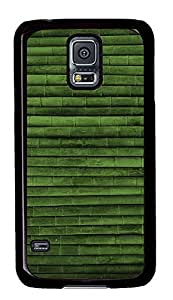 Samsung Galaxy S5 Bamboo Lines Pattern PC Custom Samsung Galaxy S5 Case Cover Black