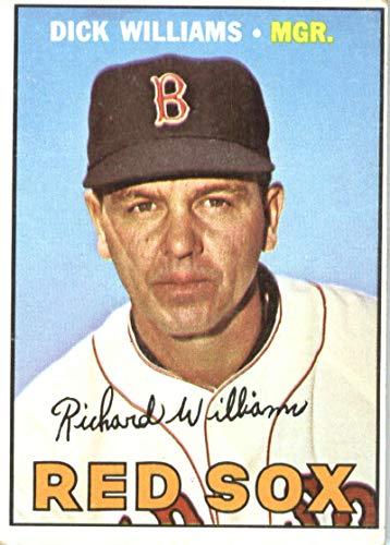 1967 Topps #161 Dick Williams Boston Red Sox Baseball Card