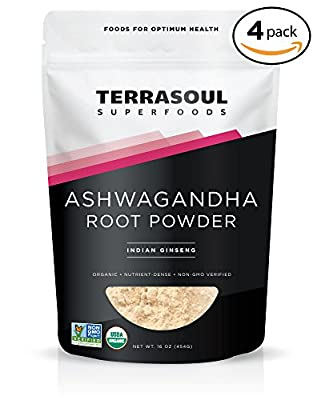 Terrasoul Superfoods Ashwagandha Root Powder (Organic)