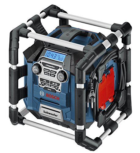 Bosch PB360S 18-Volt Lithium-Ion Power Box Jobsite Radio and Charger by Bosch