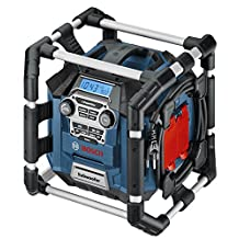 Bosch PB360S-C 18-Volt Lithium-Ion Power Box Jobsite Radio and Charger
