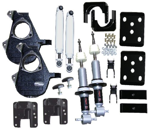McGaughys 3/5 or 4/6 Adjustable Lowering Kit 2014 Chevy GM 1500 Truck 2WD All Cabs ()