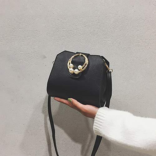 Carré Cuir Femme sac Bags Voyage Main Reutilisable Chic Petit Bandouliere Sac Sport Noir Mode De Wolfleague A dOqwqY