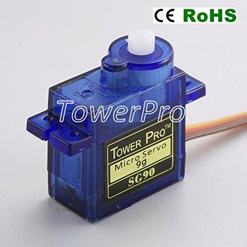 Tower Pro SG90 Analog Servo - 2pk