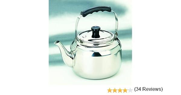 IBILI 610202 - Cafetera Pava INOX 18/10 2,75 LTS.: Amazon.es: Hogar